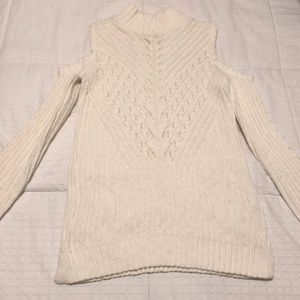 Sweaters - Cold shoulder sweater